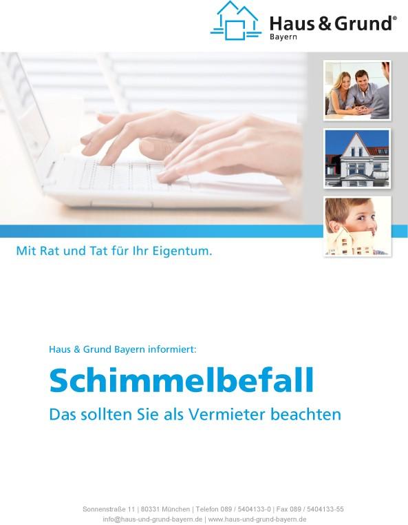 Checkliste - Schimmelbefall            (pdf Datei)